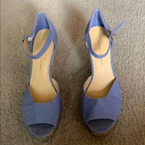 Lauren Conrad LC Wedge heels